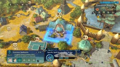 Ni no Kuni II: El Renacer de un Reino - Gameplay de la mecánica gestión del Reino
