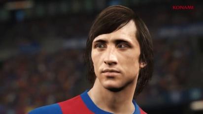 Pro Evolution Soccer 2018 - Tráiler de Johan Cruyff en PES 2018