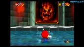 Super Mario 64 en Nintendo Switch: Gameplay de Lethal Lava Land