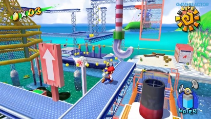 Super Mario Sunshine en Nintendo Switch: Gameplay de Puerto Espresso