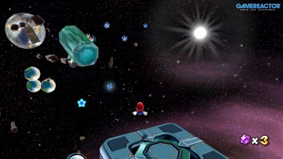 Super Mario Galaxy en Nintendo Switch: Gameplay de Galaxia Nebulosa