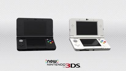 New Nintendo 3DS - Repaso de funciones y novedades