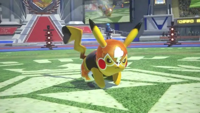 Pokkén Tournament - Japanese Masked Pikachu Trailer