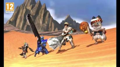 Monster Hunter Generations - Tráiler español de los Gatadores