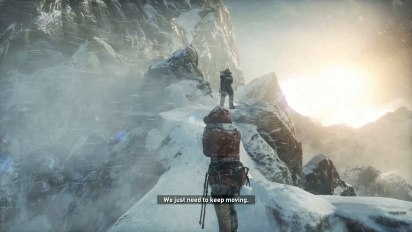 Rise of the Tomb Raider - Gameplay PS4 básica