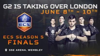G2 Esports - CS:GO Lineup for ECS Season 5 Finals