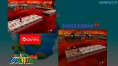 Super Mario 64: Comparativa de gráficos Nintendo 64 VS Switch
