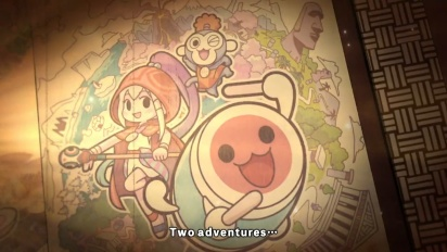 Taiko no Tatsujin: Rhythmic Adventure Pack - Street Date Announce Trailer