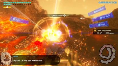 Hyrule Warriors: La era del cataclismo – Gameplay con los Elegidos y las Bestias Divinas