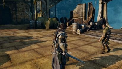Sombras de Mordor - Gameplay PS4 básica
