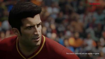 Pro Evolution Soccer 2018 - Tráiler de Luís Figo en PES 2018