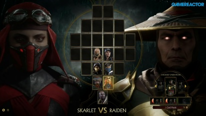 Mortal Kombat 11 - Gameplay Skarlet vs. Raiden
