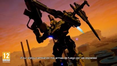 Daemon X Machina - Tráiler español de la historia