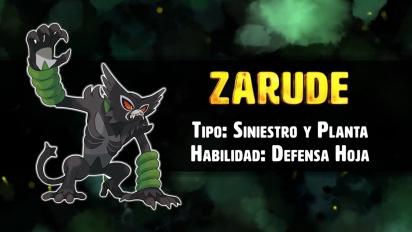 Pokémon Espada y Escudo - Presentación de Zarude, el Pokémon Simiestro