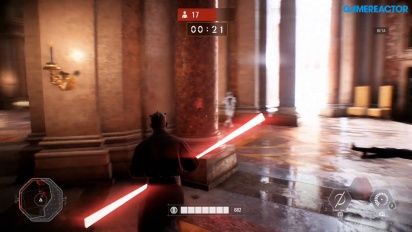 Star Wars Battlefront II - Gameplay de Darth Maul en solitario Batalla por Equipos - Wipe Them Out