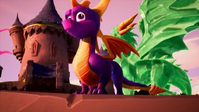 Spyro: Reignited Trilogy - Tráiler Spyro the Dragon ha vuelto en español
