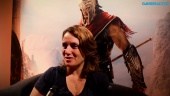 Assassin's Creed Odyssey - Entrevista a Lydia Andrew