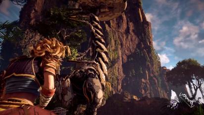 Horizon: Zero Dawn - PS4 PRO gameplay (no HDR)