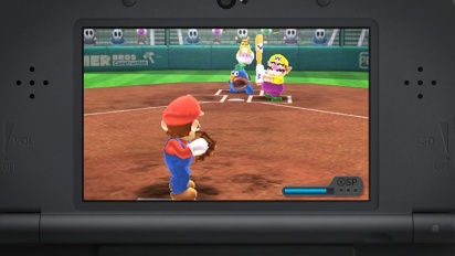 Mario Sports Superstars – Tráiler Home run (Béisbol)
