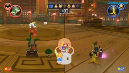 Mario Kart 8 Deluxe - Gameplay 1080p60 Modo Batalla Patrulla Piraña