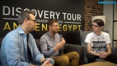 Discovery Tour by Assassin's Creed: Ancient Egypt - Entrevista a Maxime Durand y Jean Guesdon