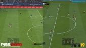 FIFA 19 vs PES 2019 - Cara a cara de gráficos en HD