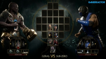 Mortal Kombat 11 - Gameplay Geras vs. Sub-Zero