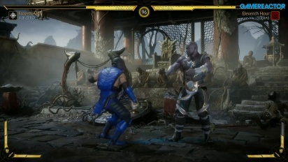 Mortal Kombat 11 - Gameplay Sub-Zero vs. Geras con Fatality
