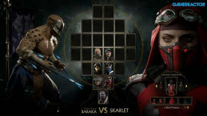 Mortal Kombat 11 - Gameplay Baraka vs. Skarlet