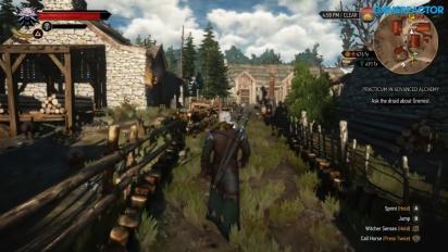 The Witcher 3: Wild Hunt - Gameplay en Nintendo Switch de Gamereactor