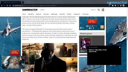 GRTV News - El DLC de Hitman 3 DLC apunta a refrito