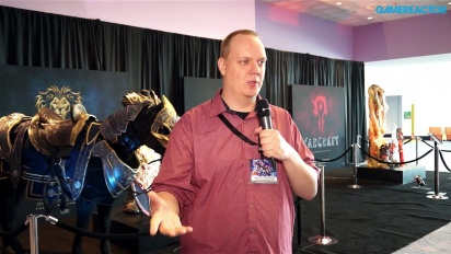 BlizzCon 2014 - Vídeo blog sobre la película de Warcraft