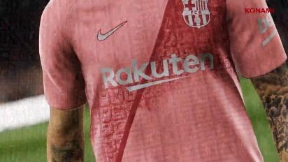 Pro Evolution Soccer 2019 - Tráiler de anuncio de la tercera equipación del FC Barcelona