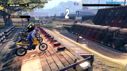 Trials Rising - Gameplay en PS4