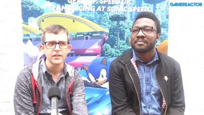 Team Sonic Racing - Entrevista a Derek Littlewood y a Ben Wilson