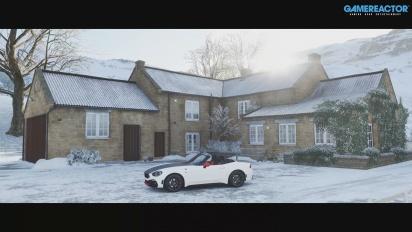 Forza Horizon 4 - Gameplay invernal a 4K60 en XSX