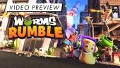 Worms Rumble - Preview en Vídeo