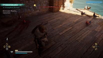 Assassin's Creed Valhalla - Gameplay en PS4