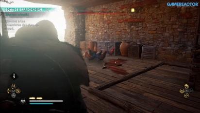 Assassin's Creed Valhalla - Gameplay español en Dunwic (PS4)