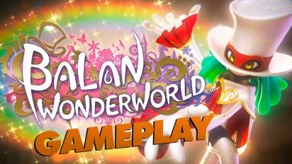 Balan Wonderworld - Gameplay de la Demo