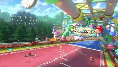 Mario Kart 8 - GCN Parque Bebé - Tráiler del circuito DLC Set 2