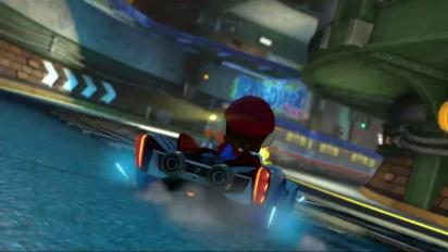 Mario Kart 8 - Estación Tilín-Tolón - Tráiler del circuito DLC Set 2
