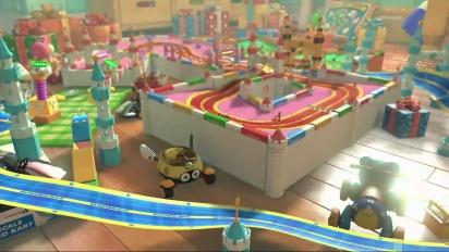 Mario Kart 8 - GBA Ruta del Lazo - Tráiler del circuito DLC Set 2