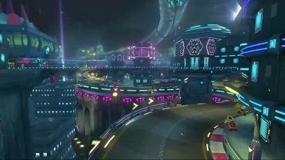 Mario Kart 8 - 3DS Ciudad Koopa - Tráiler del circuito DLC Set 2