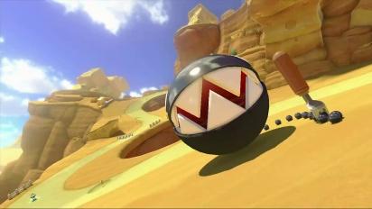 Mario Kart 8 - GBA Tierra de Queso - Tráiler del circuito DLC Set 2