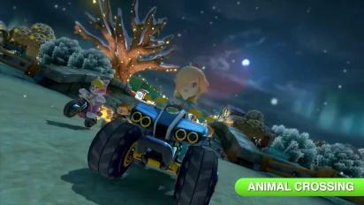 Mario Kart 8 - Tráiler de lanzamiento del DLC Set 2