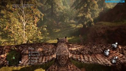Far Cry Primal - Gameplay beta de domar a las bestias