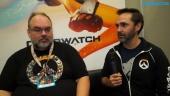Overwatch: Blizzcon 2016 - Entrevista a Scott Mercer & Michael Chu
