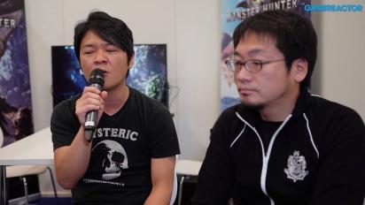Monster Hunter: World - Entrevista a Ryozo Tsujimoto y Kaname Fujioka