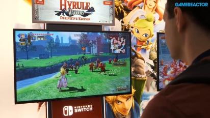 Hyrule Warriors: Definitive Edition - Gameplay en PAX 2018